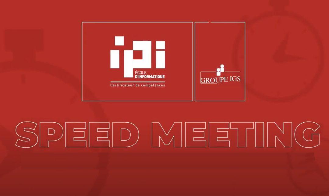 Speed Meeting IPI #6 – Rencontre avec l'équipe relations entreprises
